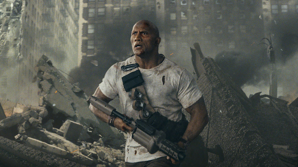 Dwayne Johnson's 'Rampage' Opens With $15.7 Million in China on First Day